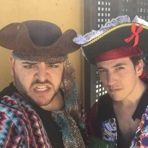 animación infantil piratas