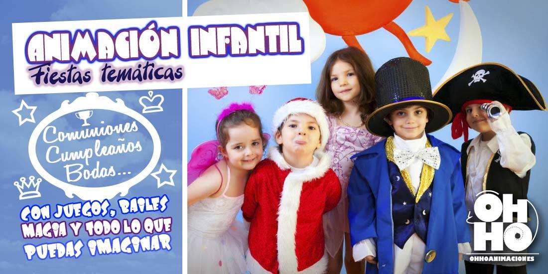 animación infantil sevilla fiestas temáticas