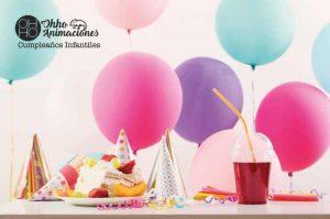 Organizar fiestas de cumpleaños