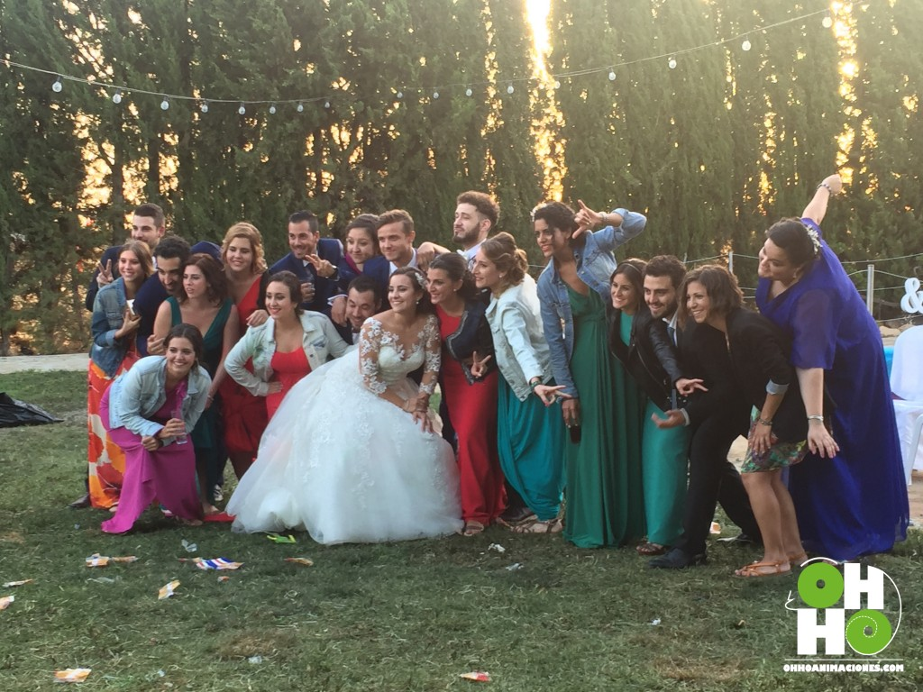momento final en boda