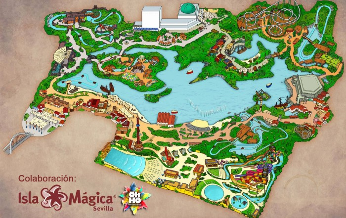 Ohho Animaciones isla mágica inocentada
