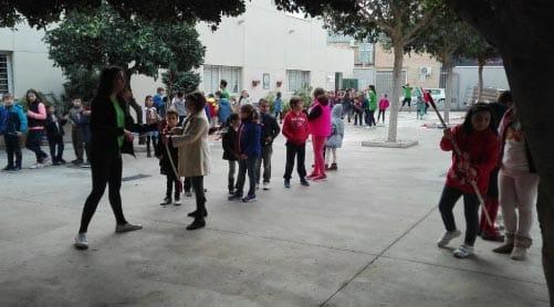 dia infantil en Cáritas con Ohho Animaciones