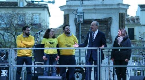 Ohho Animaciones en la gala endiometriosis Málaga