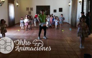 Gymkhana de juegos populares en Sevilla