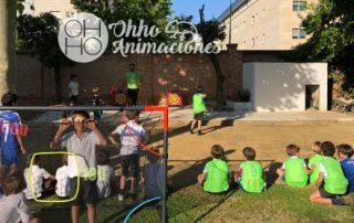 Gymkhanas deportivas infantiles en Sevilla