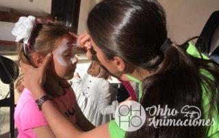 Pintacaras para niños y niñas en Sevilla