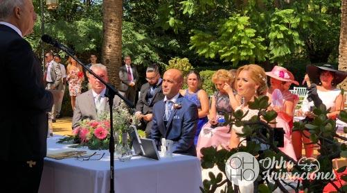 Sonorizacion de ceremonias en bodas Sevilla