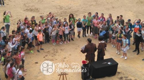 excursión en Alcalá de un Cole con ohhoanimaciones