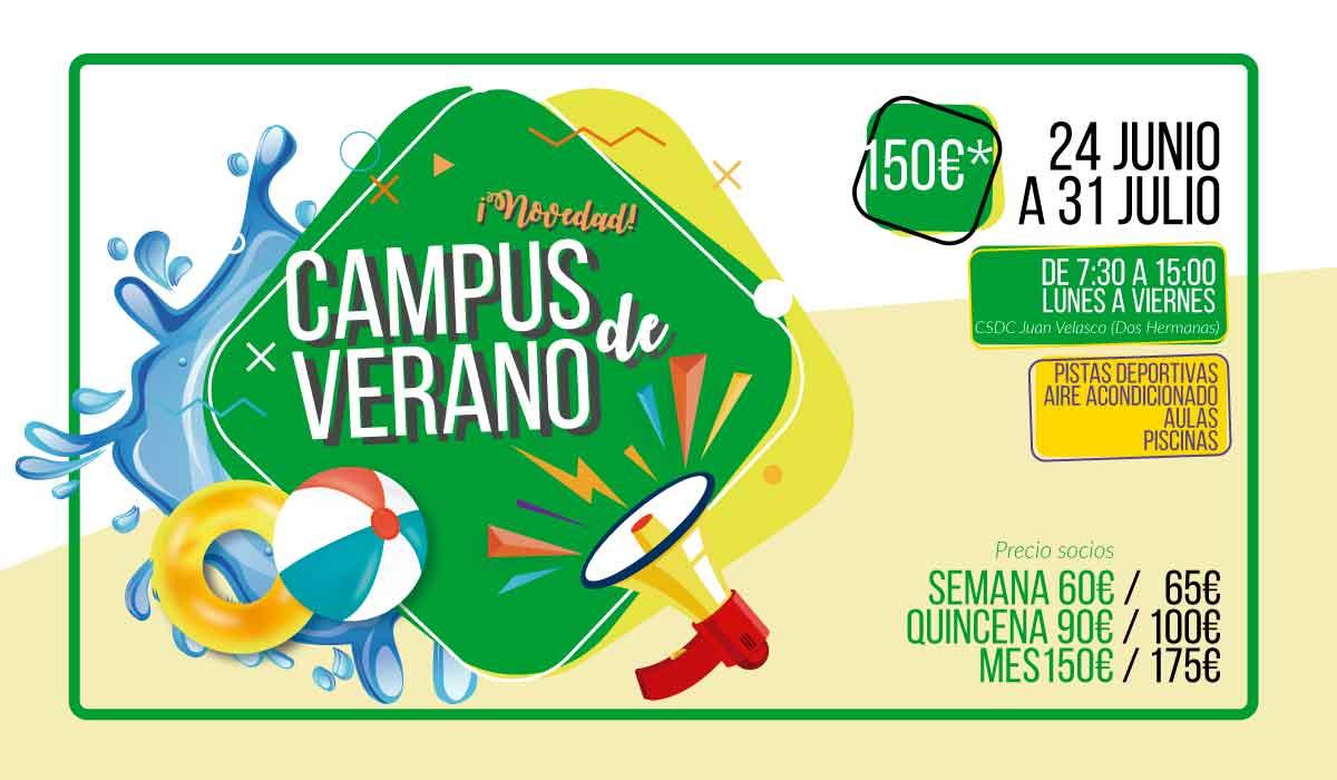 campus de verano Dos Hermanas 2019 Juan Velasco