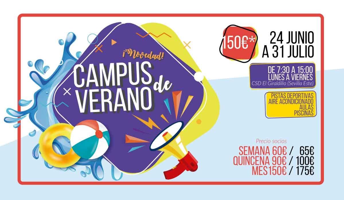 campus de verano Sevilla 2019 El Giraldillo