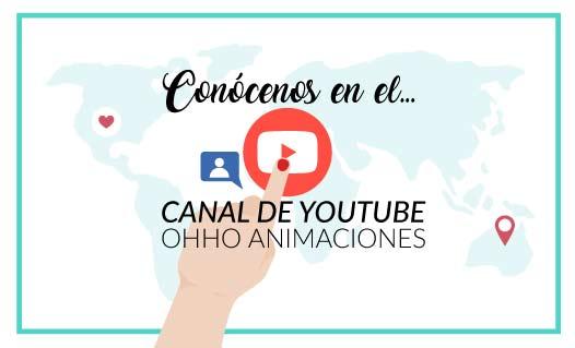 Canal youtube animación infantil Sevilla