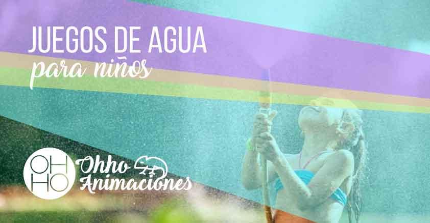 juegos acuáticos para niños en verano