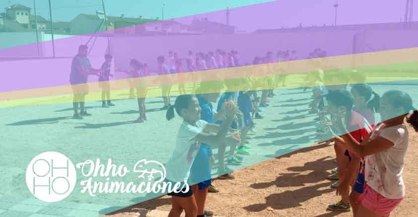 Juegos de agua para el calor en colegios