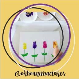 manualidades fáciles niños tupilán flores