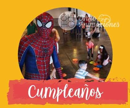 animaciones infantiles cumpleaños