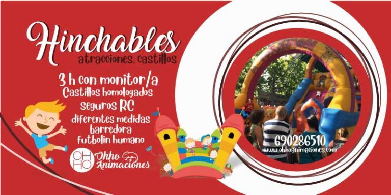 Castillos Hinchables Sevilla. Barredora para comuniones