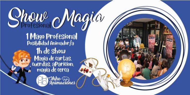 show de magia en Sevilla. Comuniones de magos.