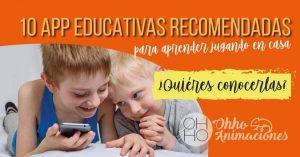 10 App para aprender desde casa