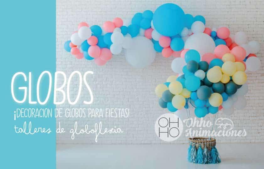 globoflexia infantil y decoración de globos en sevilla