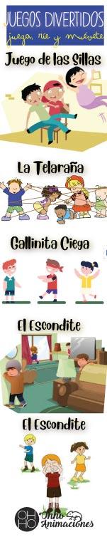 lista juegos infantiles tradicionales