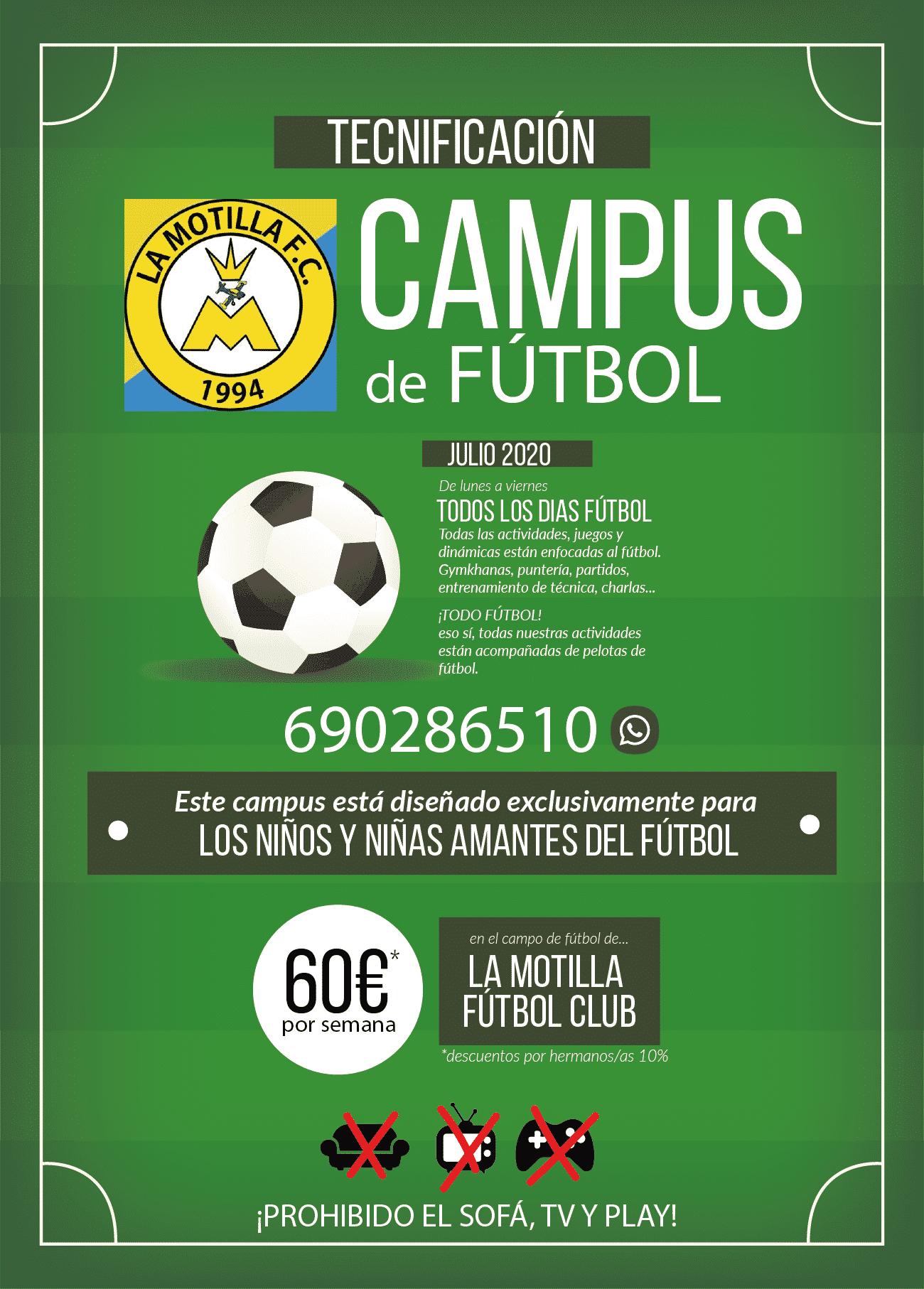 Campus de Fútbol en Dos Hermanas Tecnificación