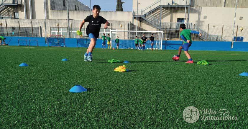 Campus de Verano Fútbol en Dos Hermanas