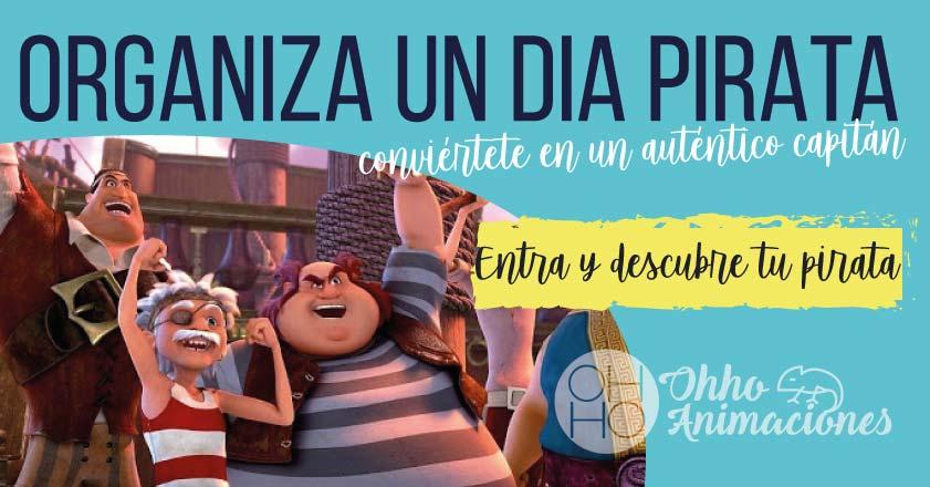 Jornada pirata. Animaciones infantiles Piratas
