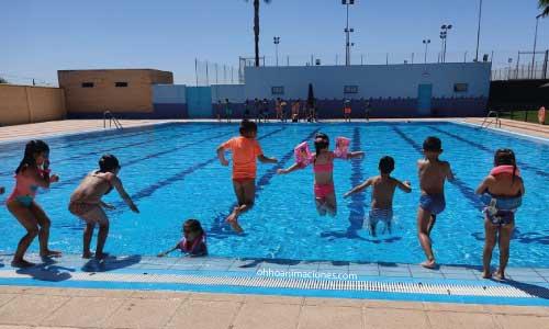 Campus de verano Dos Hermanas con piscina
